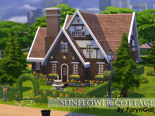 Sunflower Cottage by FarynGal