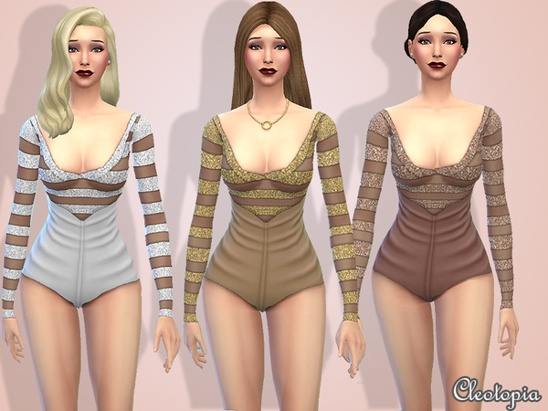 Set5- 1950's Retro Hollywood Jumpsuit by Cleotopia