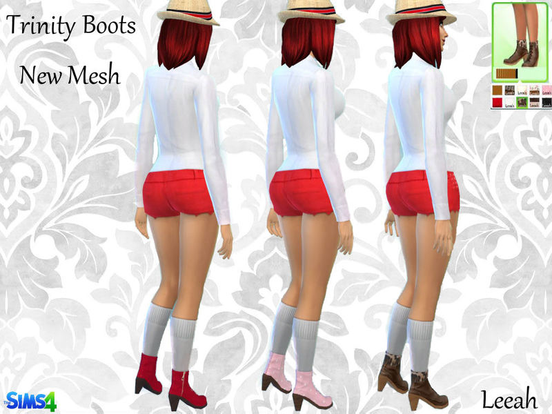 Trinity Boots by leeah at leeah