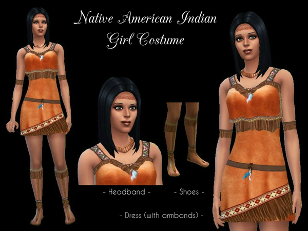 Native American Indian Girl Costume by Cocobuzz
