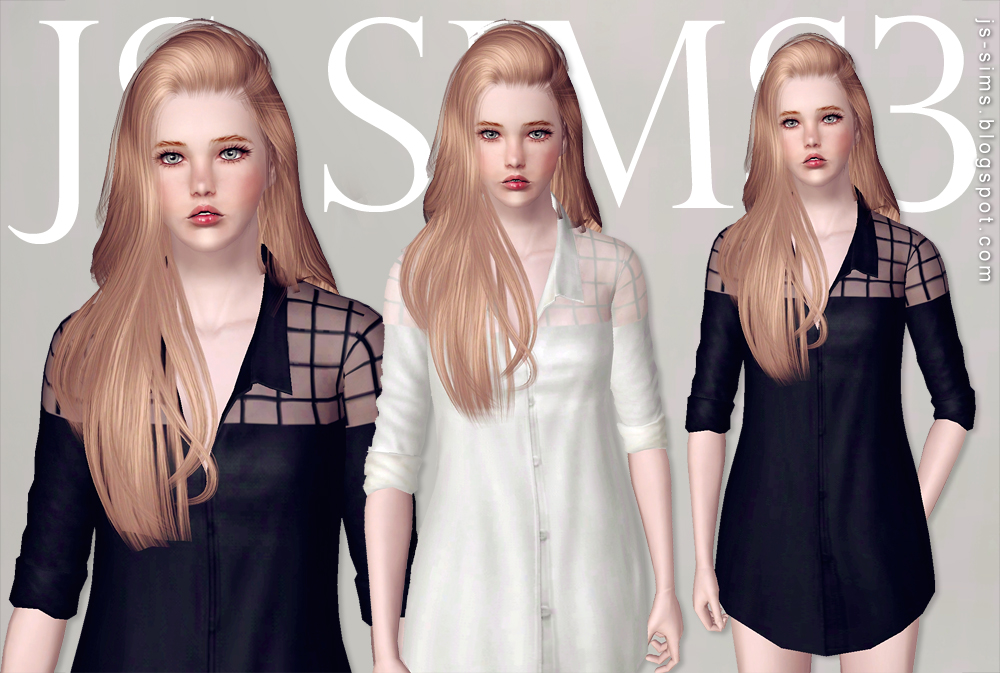 Boyfriend Mesh Shirts by JS Sims 3