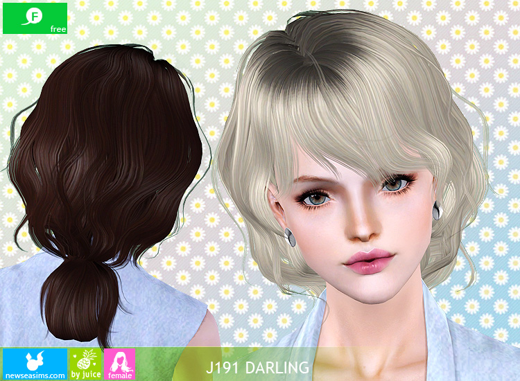 J191 Darling hairstyle by Newsea