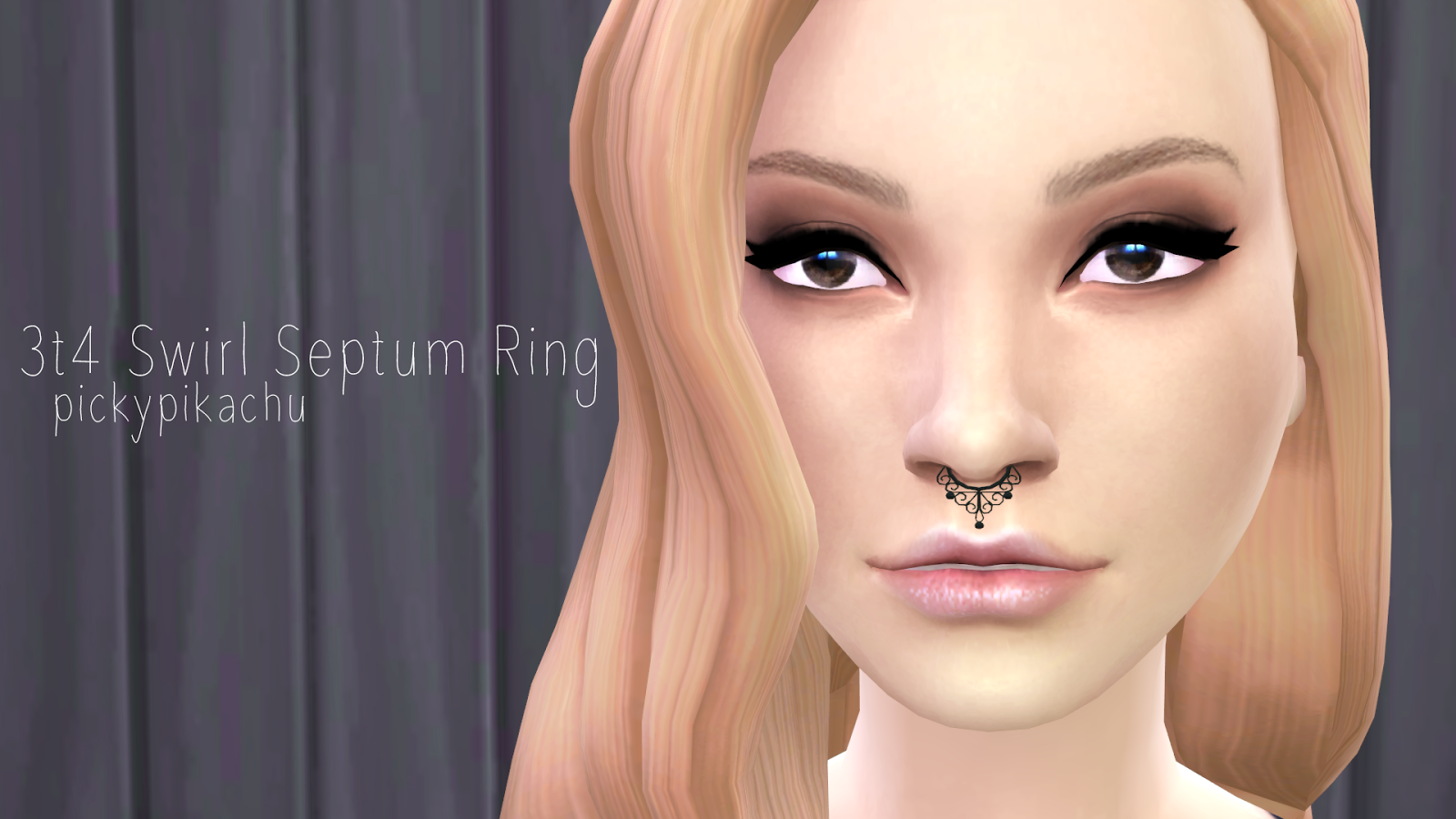 TS3 to TS4 Septum Ring by Pickypikachu