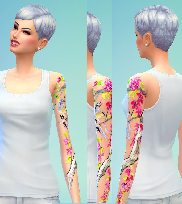 Female Tattoos (non-default) at Seventhecho