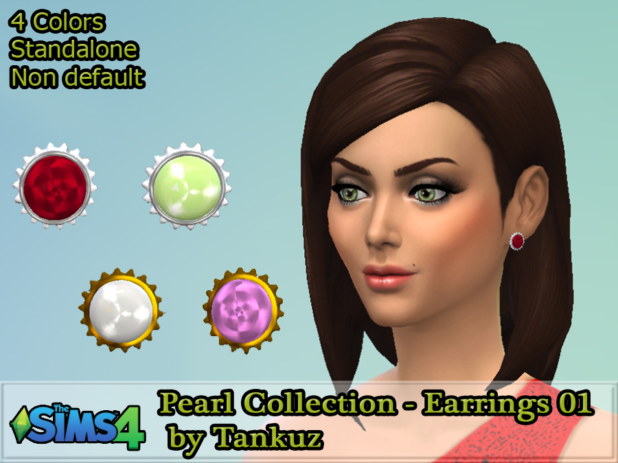 Pearl Collection earrings 01 by Tankuz