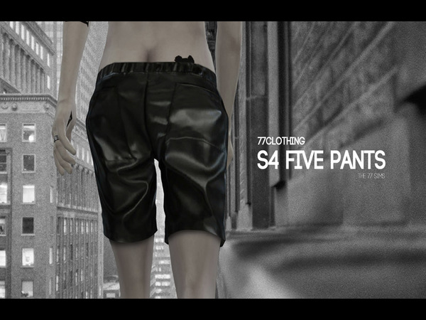 77Clothing-S4 Five pants by The 77 sims