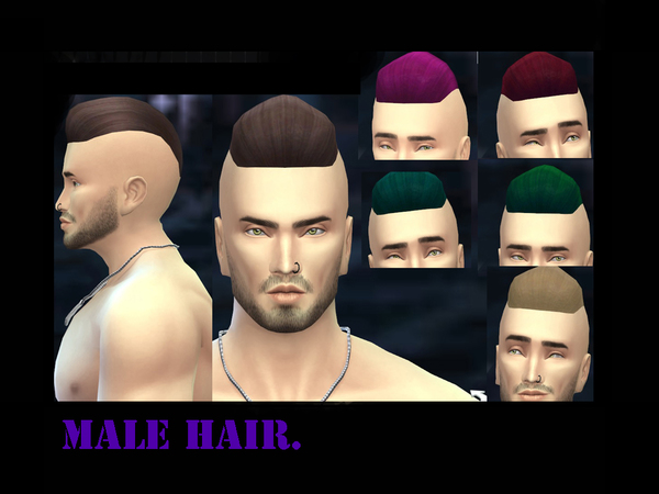 Male Hair by GGeorgge