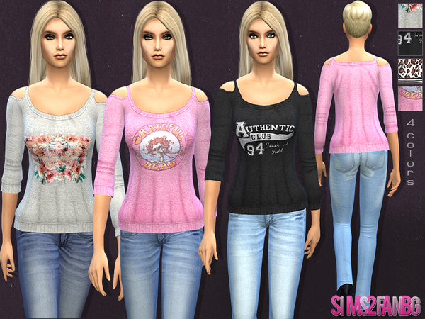 11 - Female casual set by sims2fanbg