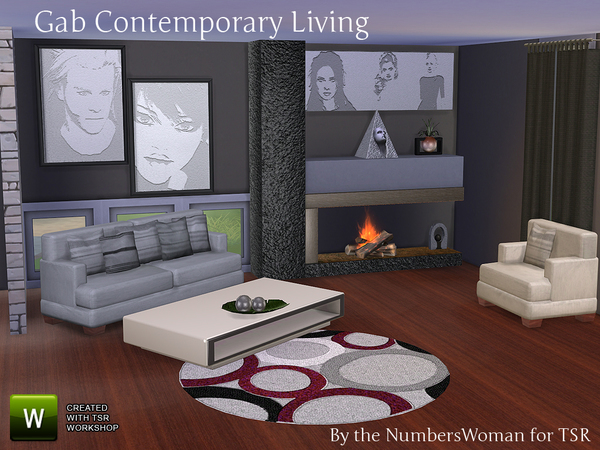 Gab Contemporary Living by TheNumbersWoman