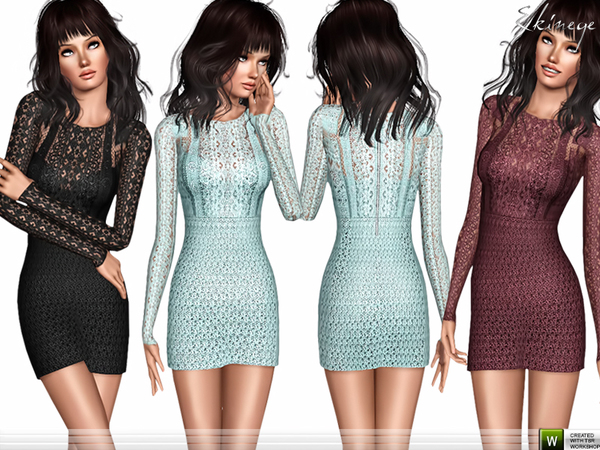 Crochet Lace Dress by ekinege