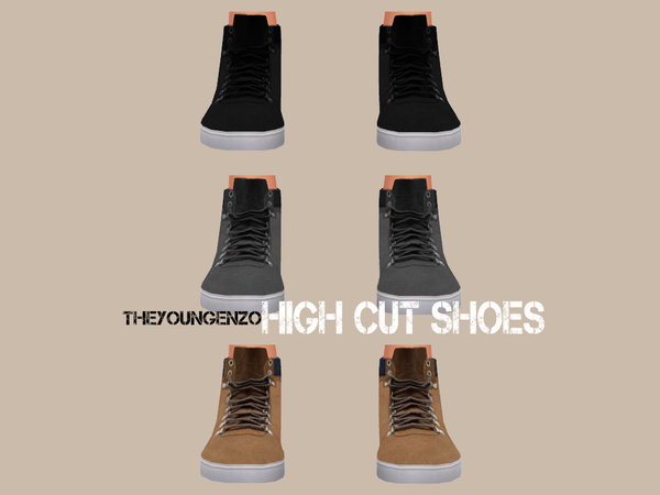 High Cut Shoes by theyoungenzo