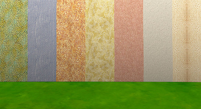 Stucco Walls Collection 01 by HelleN