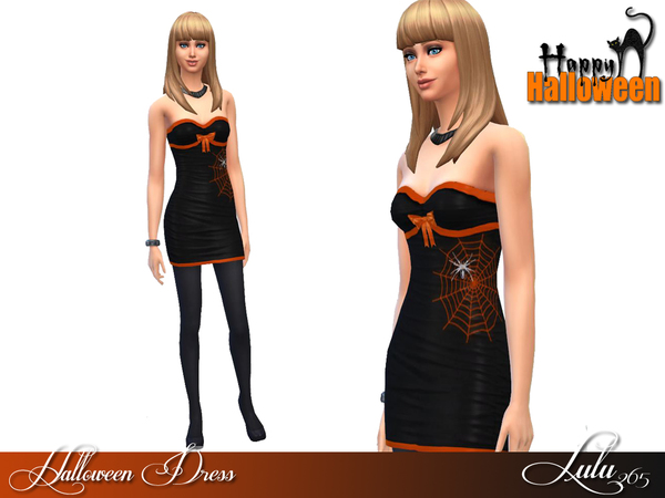 Halloween Dress by Lulu265