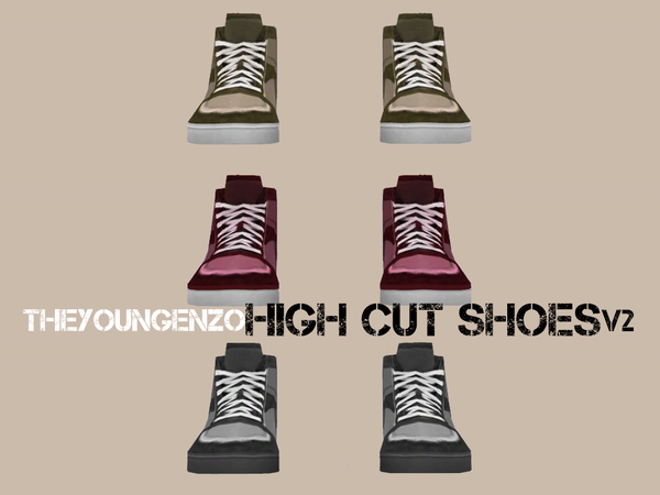 High Cut Shoes V2 by theyoungenzo
