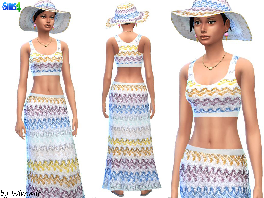 ZigZag Summer Set by Wimmie