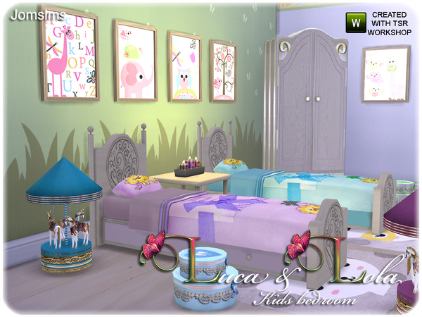 Kids bedroom Luca & Lola by jomsims