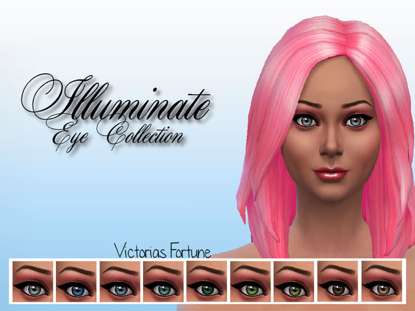 Victorias Fortune Illuminate Eye Collection by fortunecookie1