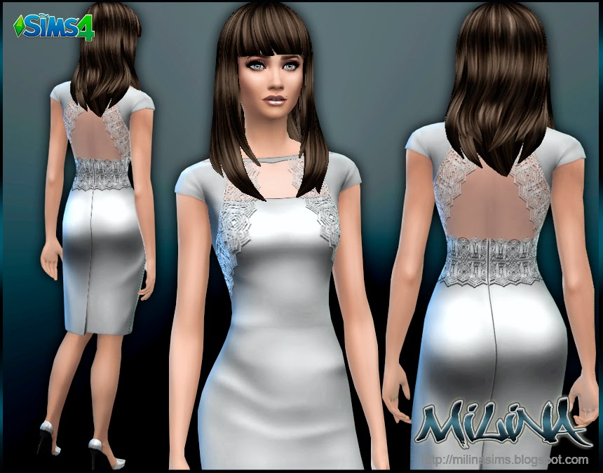 Lace Cocktail Dress by Milina