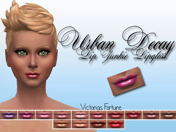 Victorias Fortune Urban Decay Lip Junkie Collection by fortunecookie1