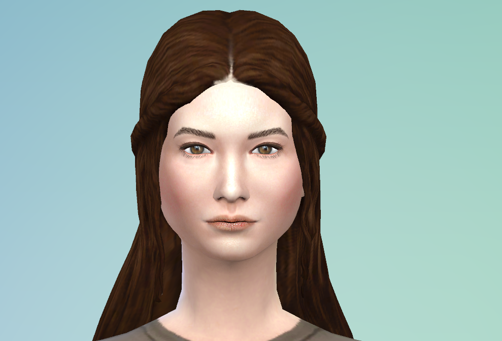 The Sims Medieval Long Hair Conversion by Sage