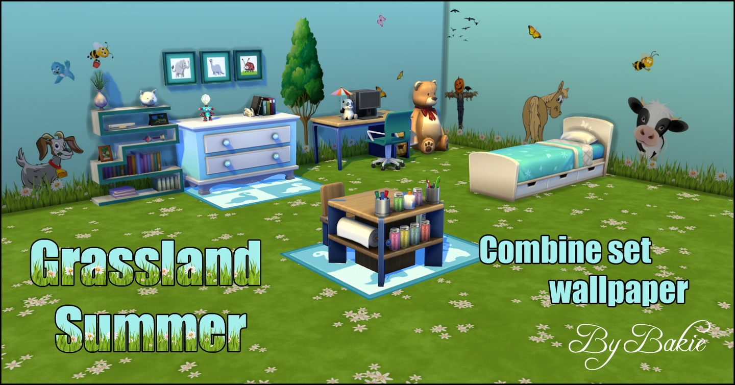 Grassland Summer Combine Set by Bakie