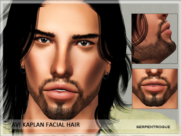 Avi Kaplan facial hair by Serpentrogue