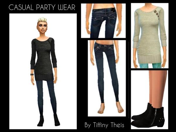 Casual party wear set by tiffybee