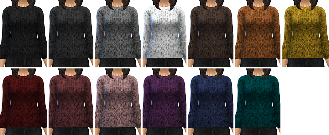 13 Sweaters by MissParaply