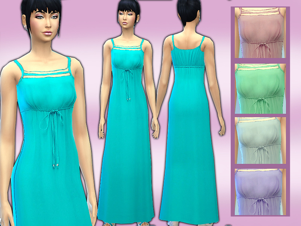 casual chic style maxi dress by shanelle.sims