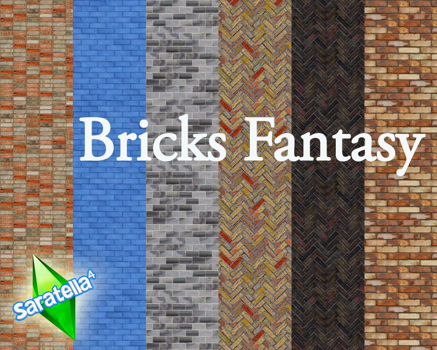 Bricks Fantasy Walls by Saratella