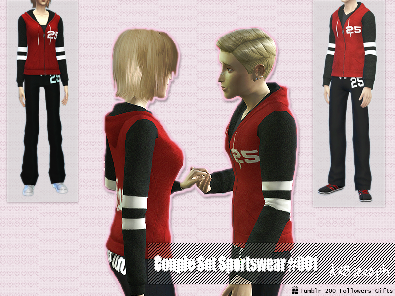 Sportswear Couple Set by dx8seraph