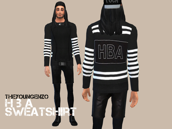 HBA SWEATSHIRT by theyoungenzo