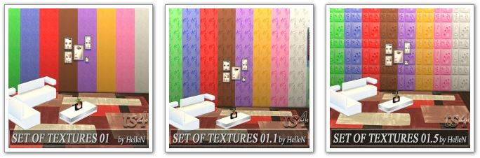 Set of textures by HelleN