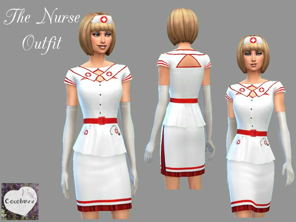 The Nurses Outfit by Cocobuzz