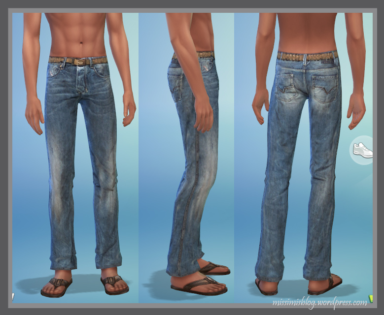 Jeans for Males by Missimis