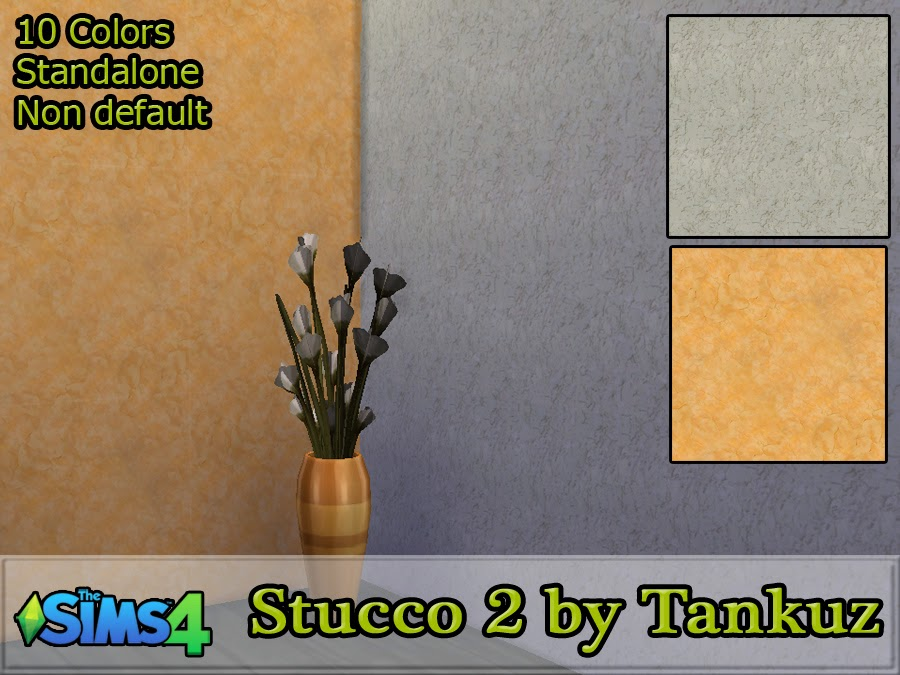 Stucco walls 2 by Tankuz