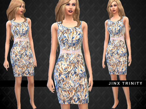 Satin Designer Dress by JinxTrinity