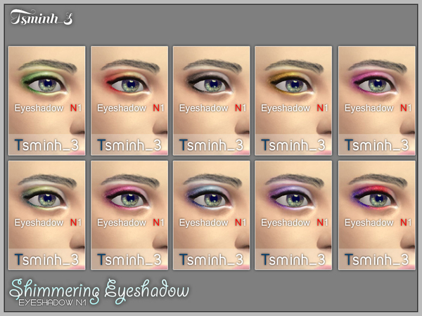 Shimmering Eyeshadow by tsminh_3
