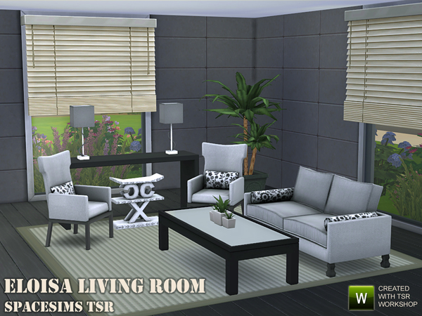 Eloisa living room by spacesims