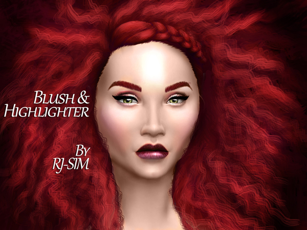 Blush & Highlighter by RJ-SIM