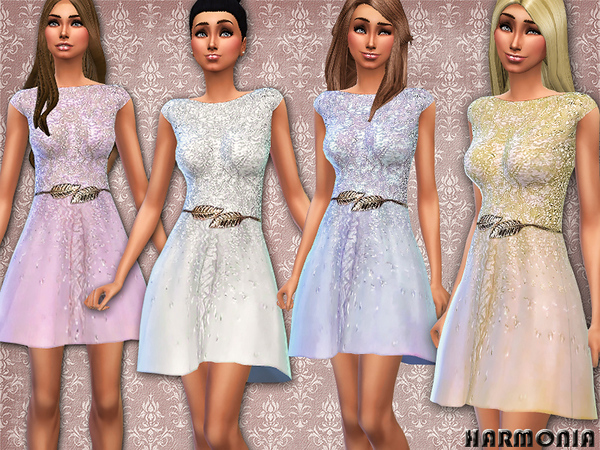 Haute Couture Embellished Dress by Harmonia