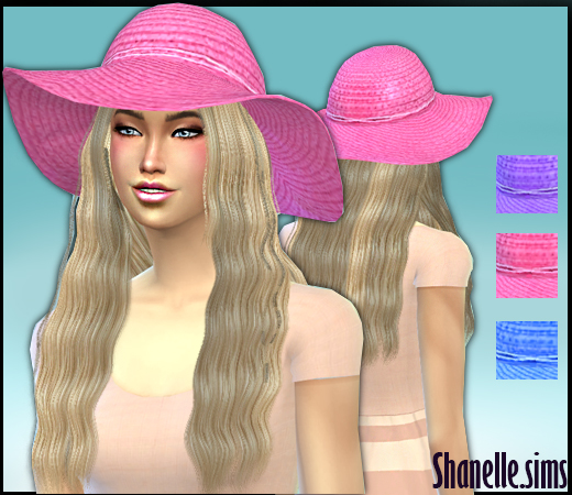 Bright Floppy Hats by Shanelle