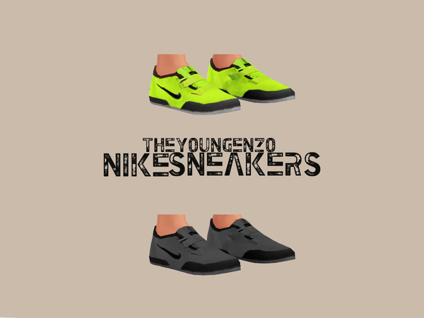 Nike Sneakers by theyoungenzo