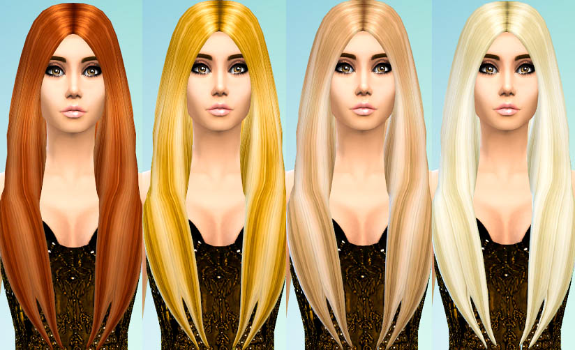 David Sims Long Classic Recolors by Ohmyglobsims
