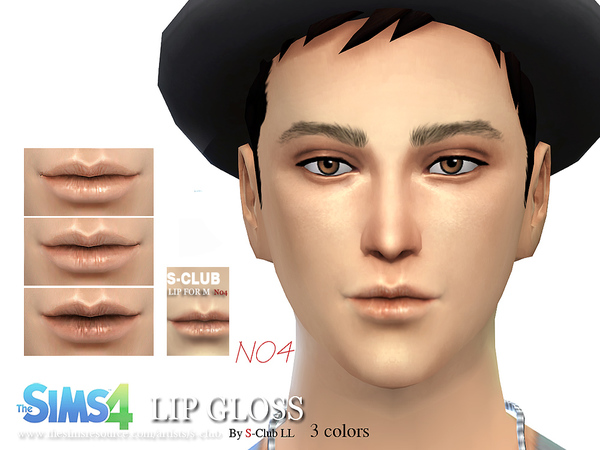 S-Club LL thesims4 Lipstick M04