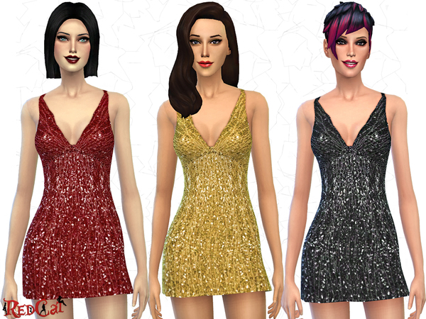 Sequined Dress by RedCat