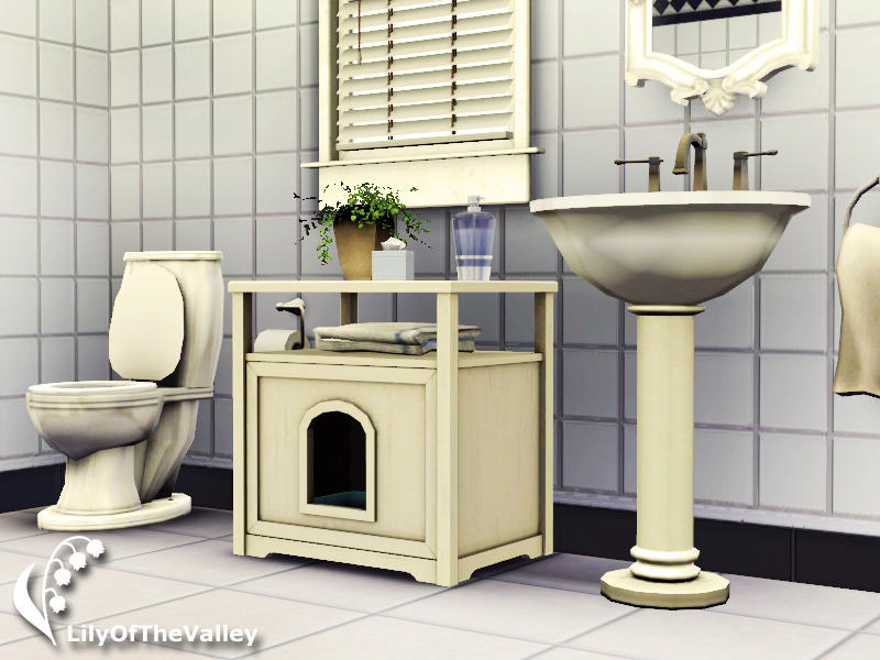 Hideaway Litter Box by LilyOfTheValley