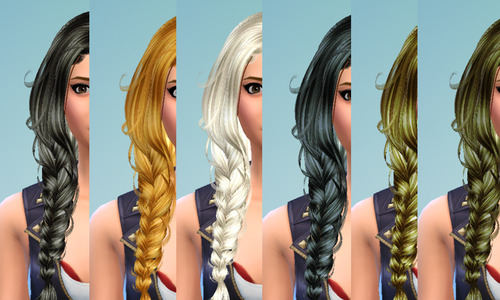 David Sims Newsea Erena Retexture in Pooklet's Naturals by Brownieswifesims