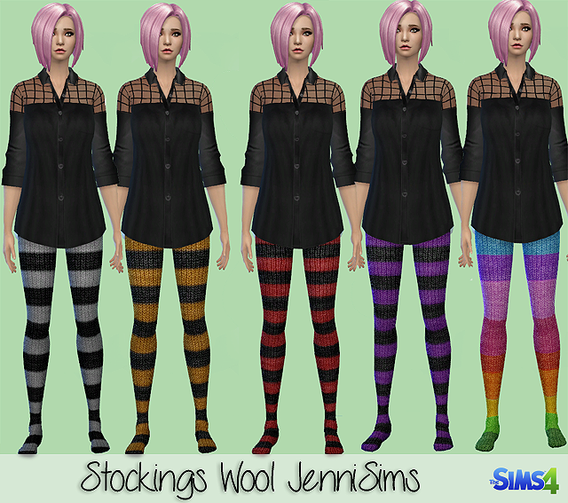 Wool Stockings by JenniSims