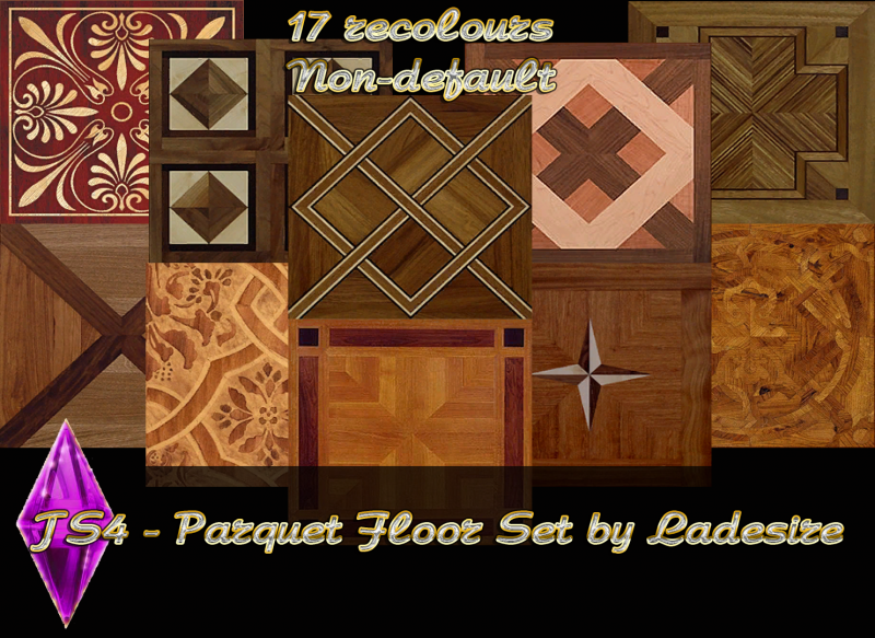 Parquet Set Floor by Ladesire
